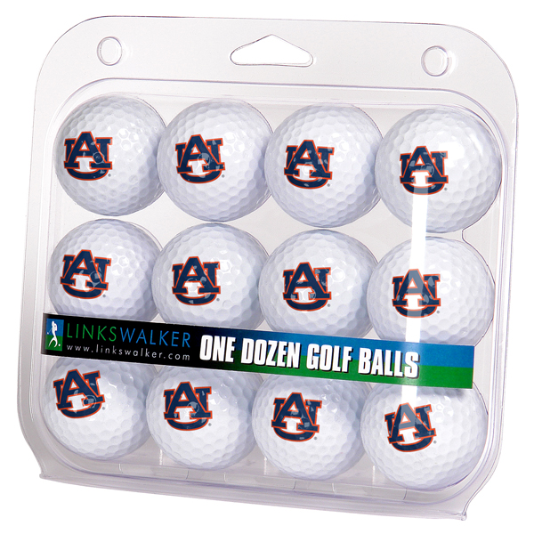Auburn Tigers-Dozen Golf Balls