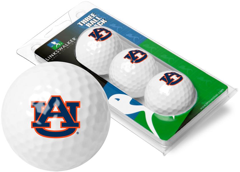 Auburn Tigers-3 Golf Ball Sleeve