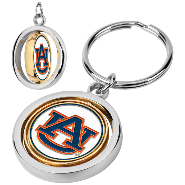 Auburn Tigers-Spinner Key Chain