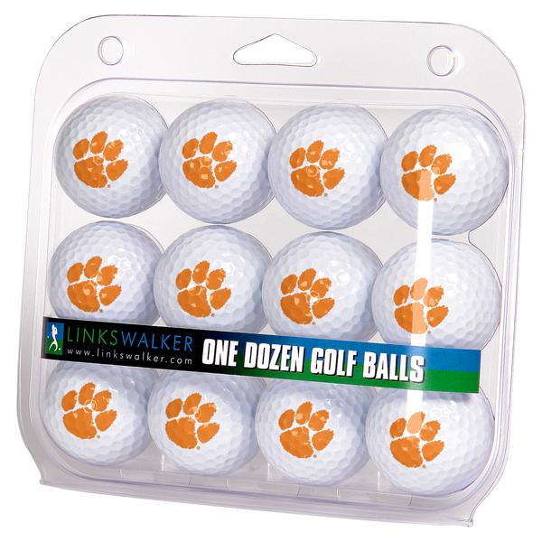 Clemson Tigers-Dozen Golf Balls