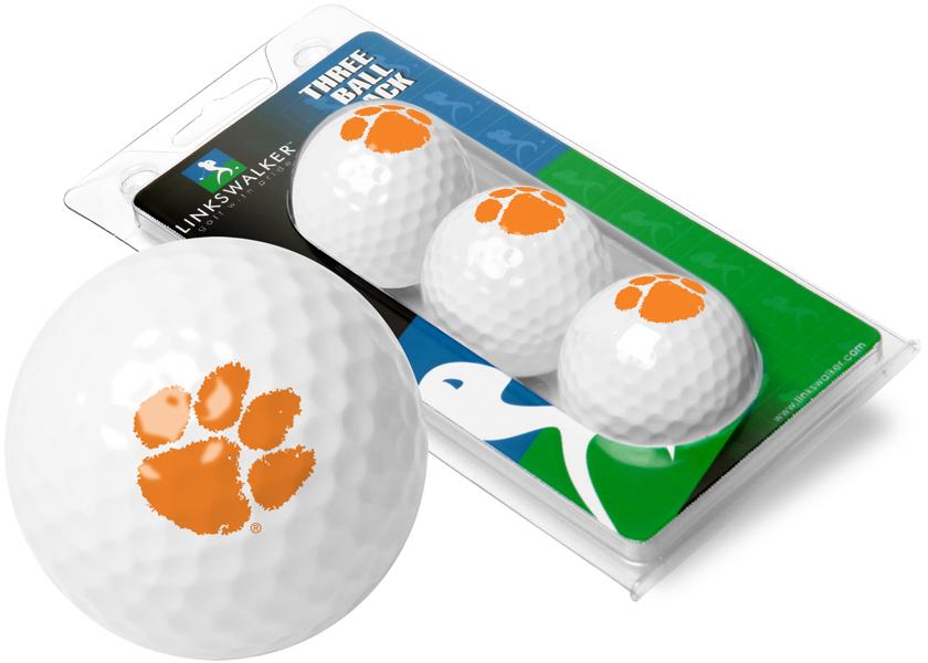 Clemson Tigers-3 Golf Ball Sleeve