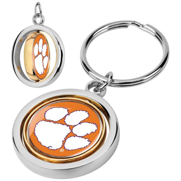 Clemson Tigers-Spinner Key Chain
