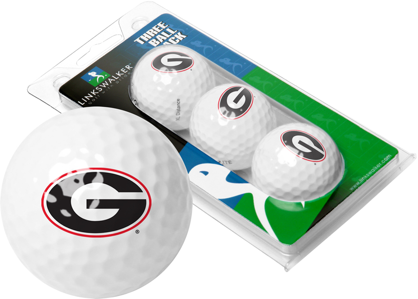 Georgia Bulldogs-3 Golf Ball Sleeve