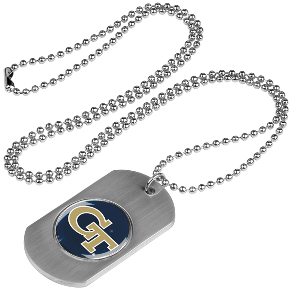 Georgia Tech Yellow Jackets-Dog Tag