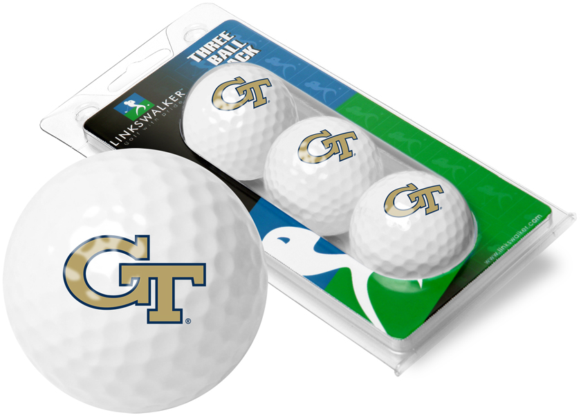 Georgia Tech Yellow Jackets-3 Golf Ball Sleeve