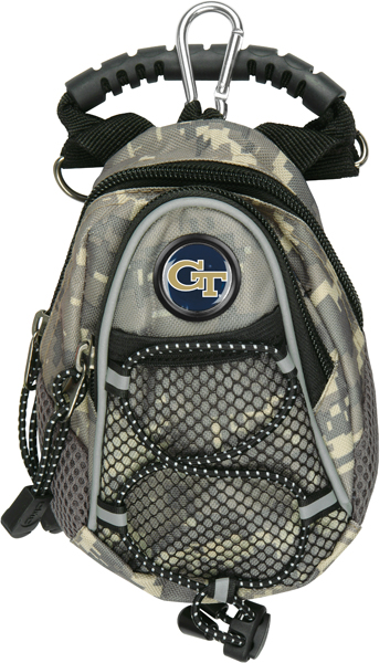 Georgia Tech Yellow Jackets-Mini Day Pack - Camo