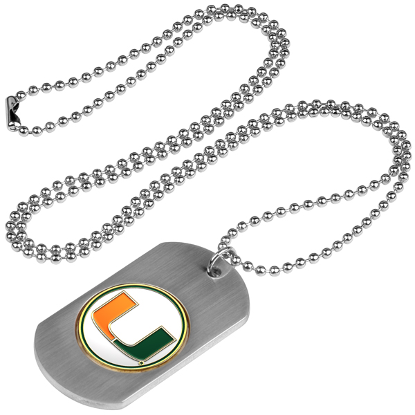 Miami Hurricanes-Dog Tag