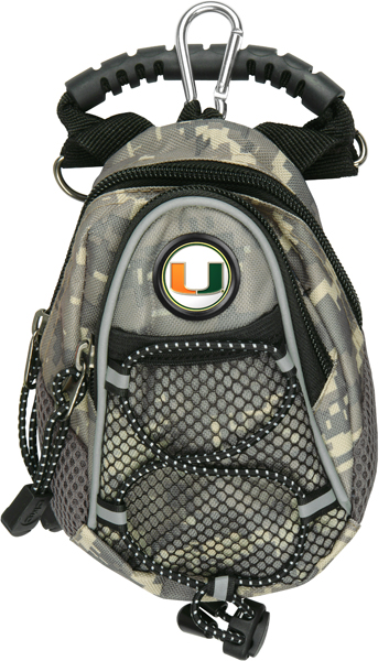 Miami Hurricanes-Mini Day Pack - Camo