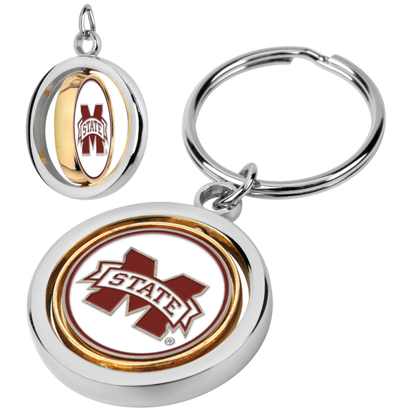 Mississippi State Bulldogs-Spinner Key Chain