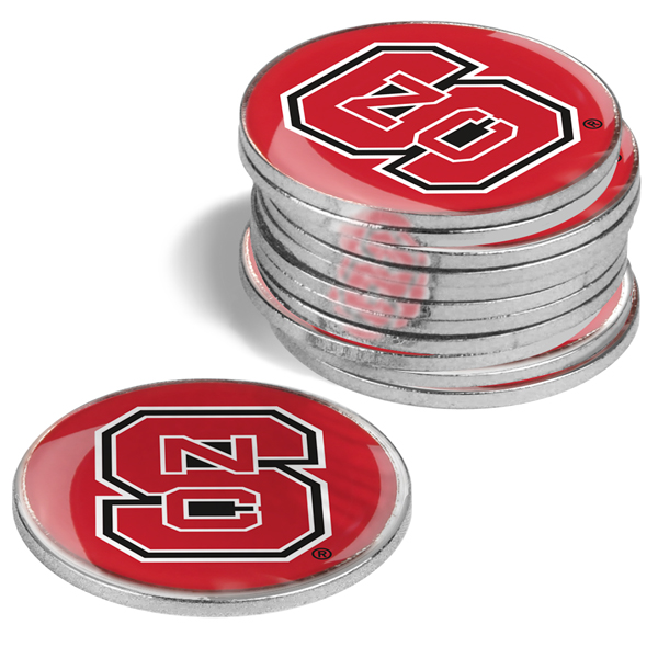 North Carolina State Wolfpack-12 Pack Ball Markers