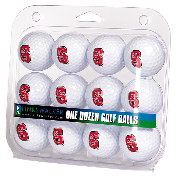 North Carolina State Wolfpack-Dozen Golf Balls