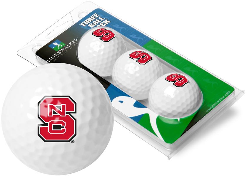 North Carolina State Wolfpack-3 Golf Ball Sleeve