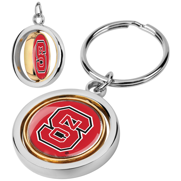 North Carolina State Wolfpack-Spinner Key Chain