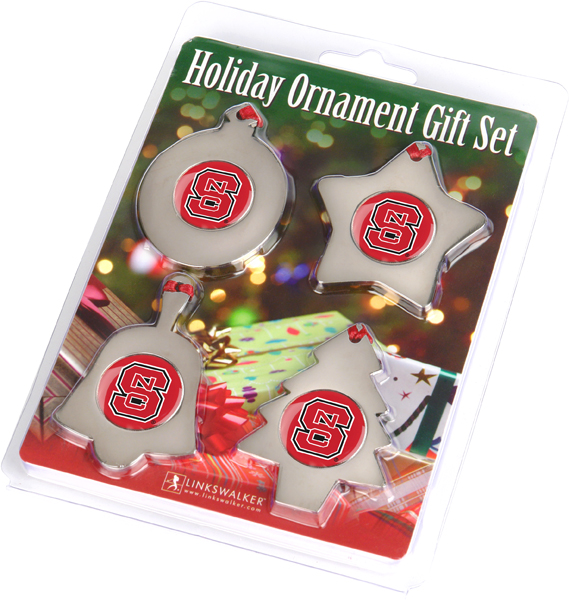 North Carolina State Wolfpack-Ornament Gift Pack