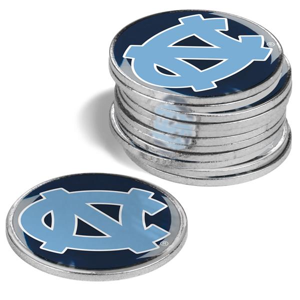 North Carolina - University Of-12 Pack Ball Markers