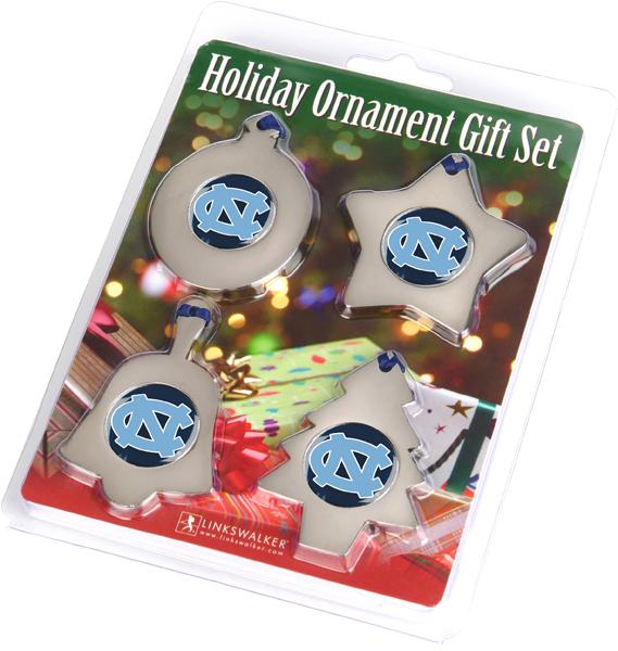 North Carolina - University Of-Ornament Gift Pack