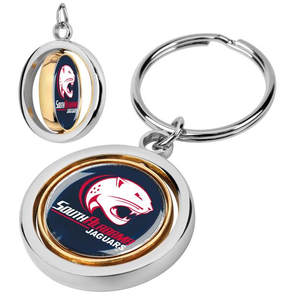 South Alabama Jaguars-Spinner Key Chain