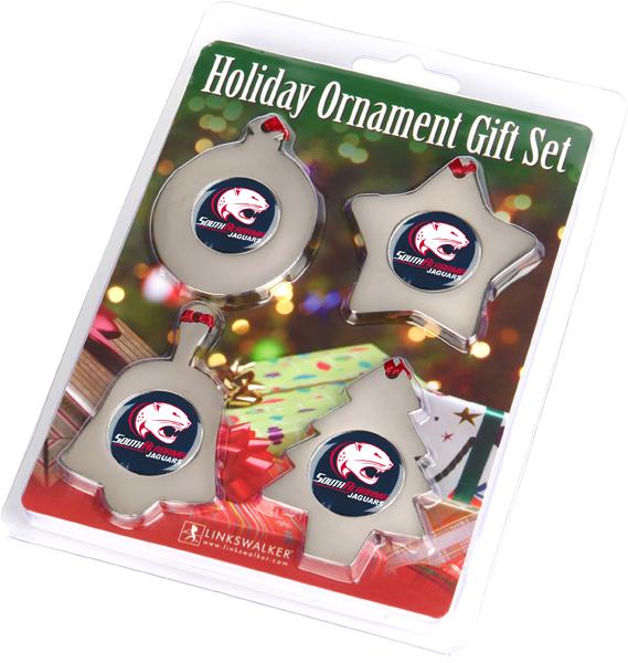 South Alabama Jaguars-Ornament Gift Pack
