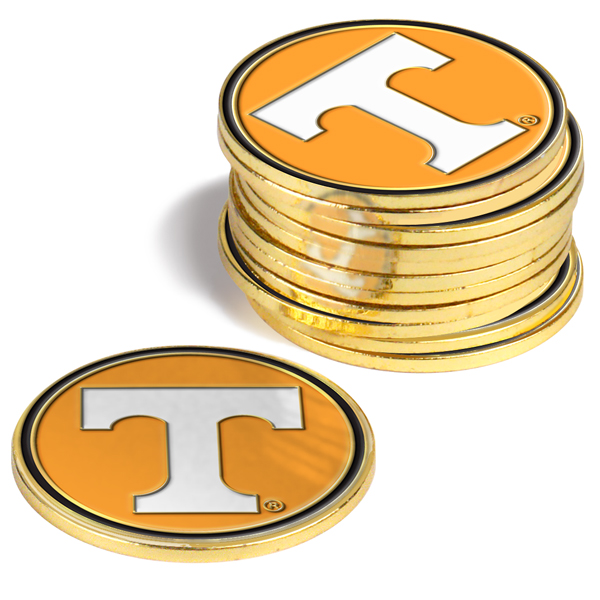 Tennessee Volunteers-12 Pack Ball Markers