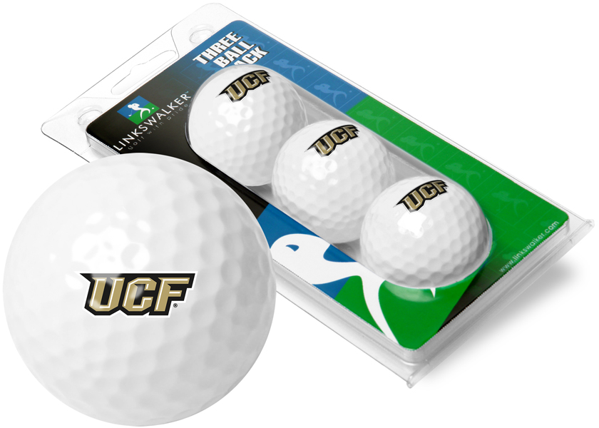 Central Florida Knights-3 Golf Ball Sleeve