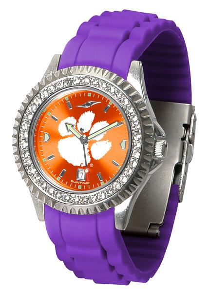 New - Ladies Clemson Tigers-Sparkle Watch