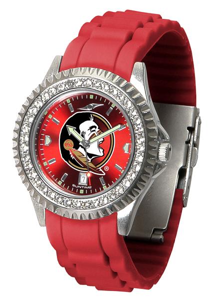 New - Ladies Florida State Seminoles-Sparkle Watch