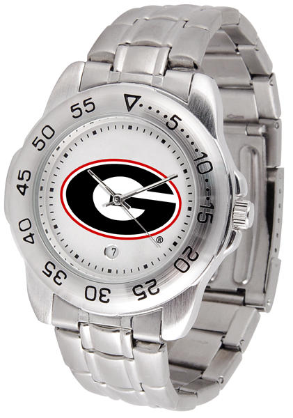New - Mens Georgia Bulldogs-Sport Steel