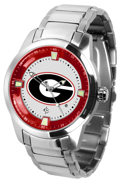 New - Mens Georgia Bulldogs-Titan Steel