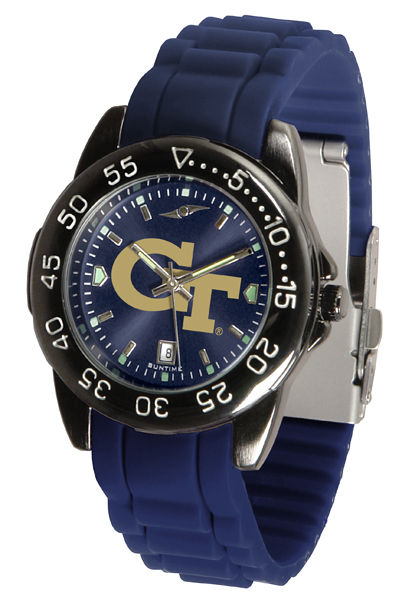 New - Mens Georgia Tech Yellow Jackets-FantomSport AC AnoChrome