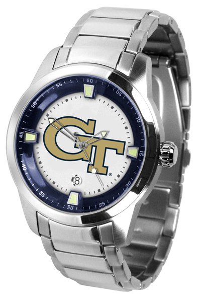 New - Mens Georgia Tech Yellow Jackets-Titan Steel