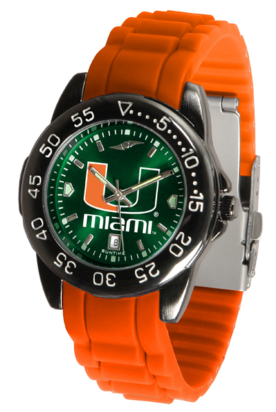 New - Mens Miami Hurricanes-FantomSport AC AnoChrome